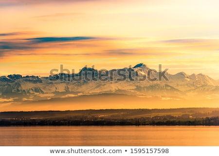 dusk lake constance Stock photo © Tomjac1980