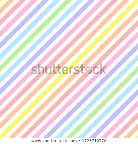 Végtelenített színes szivárvány csíkok minta textúra Stock fotó © creative_stock