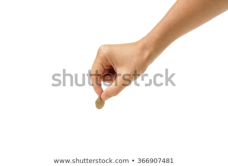 Male Hand On Coins Stock photo © AndreyPopov
