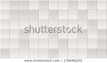 Beige mozaiek keramische tegels muur vloer Stockfoto © stevanovicigor