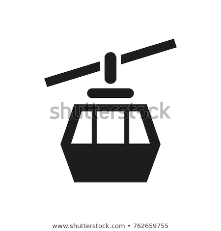 ski · ascenseur · construction · bar - photo stock © janhetman