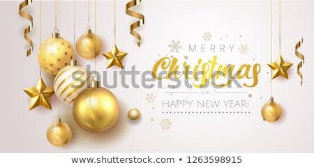 Yıldız · Noel · eps · 10 · vektör - stok fotoğraf © beholdereye
