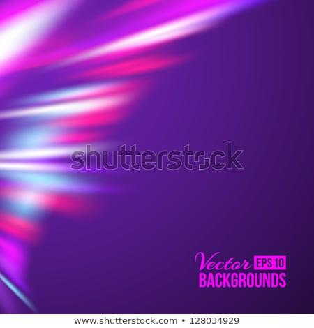 Aurora Borealis. Colorful abstract. EPS 10 Stock photo © beholdereye