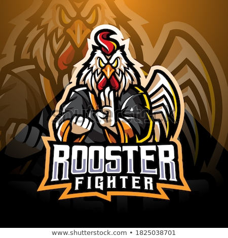 Rooster mascot Stock photo © anbuch