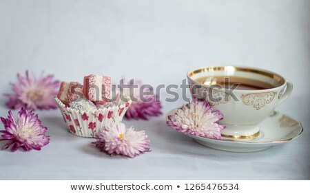 Flor peças isolado branco comida fruto Foto stock © anmalkov