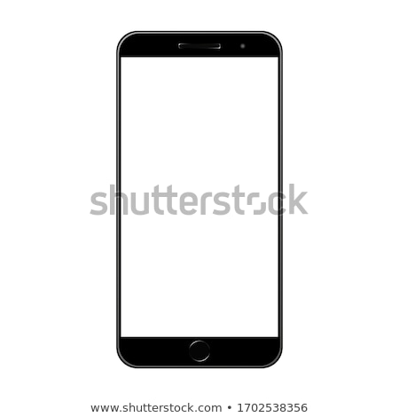 Perfectly detailed vector of modern new smartphone Stock photo © MPFphotography