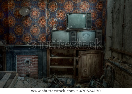 vintage abandoned buildings Stock photo © Quasarphoto