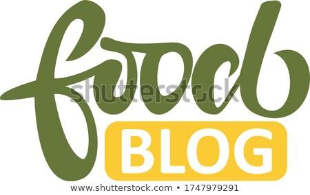 Webinar cím zöld könyv fekete könyvespolc Stock fotó © tashatuvango