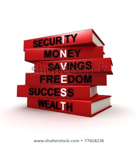 groeiend · spaargeld · financiële · grafiek · tonen · goud - stockfoto © lightsource