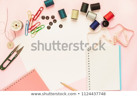 Open Thread Sew Book Stock photo © dezign56