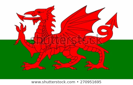 Flag of Wales Stock photo © creisinger