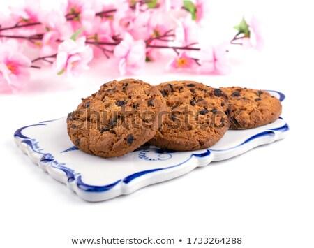 chocolate · coberto · escuro · pó - foto stock © tangducminh