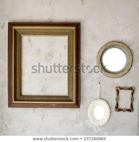 establecer · fluorescente · lámparas · espejo · reflexión · diferente - foto stock © art9858