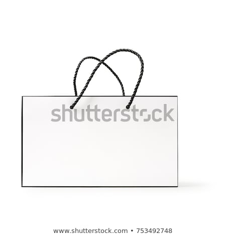 Stock photo: Sale bag design element isolated on white