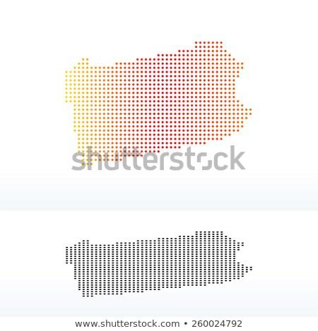 Térkép USA Pennsylvania pont minta vektor Stock fotó © Istanbul2009
