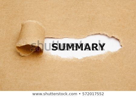 Review Torn Paper Concept Stock photo © ivelin