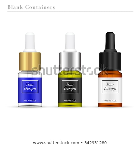 bottle with essence oil isolated on white Stock photo © tetkoren