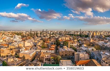 panorama of south of nicosia cyprus stock photo © kirill_m