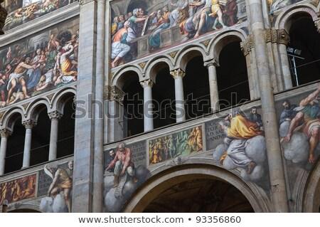 Detalle catedral Italia edificio arquitectura Europa Foto stock © phbcz