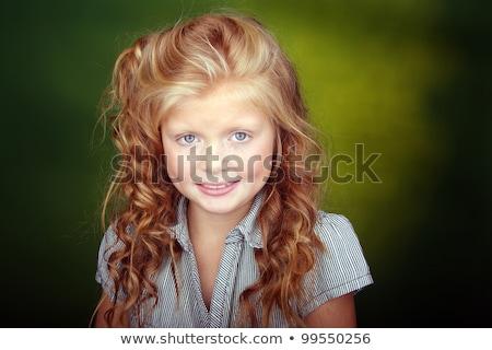 iker · lányok · arcok · közelkép · család · lány - stock fotó © Paha_L