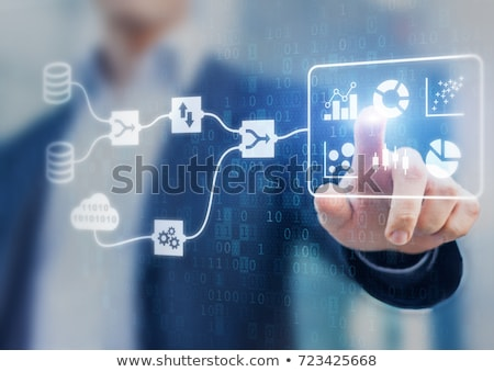 Merging With Technology Stock photo © Lightsource