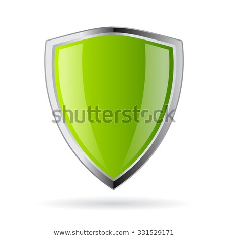 Protection 100 Percent Secure Green Shield Vector Icon stock photo © rizwanali3d