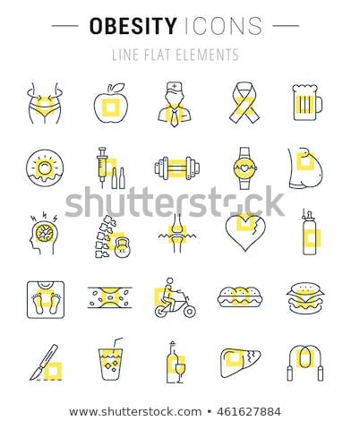 cukorbeteg · vese · betegség · cukorbetegség · kereszt · egészség - stock fotó © redkoala