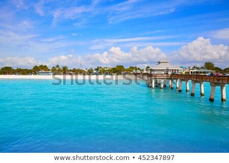 Florida Fort Myers Pier beach US Stock photo © lunamarina