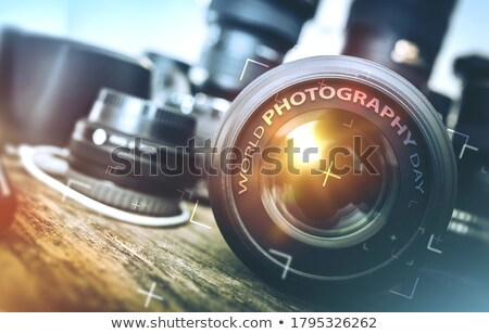Août calendrier monde jour photographie Photo stock © Oakozhan