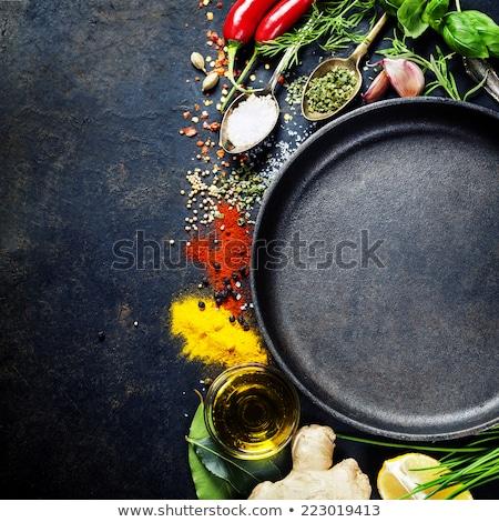 Aphrodisiac Food Selection Stock photo © marilyna