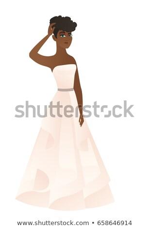 Verloofde hoofd jonge nadenkend onzeker Stockfoto © RAStudio