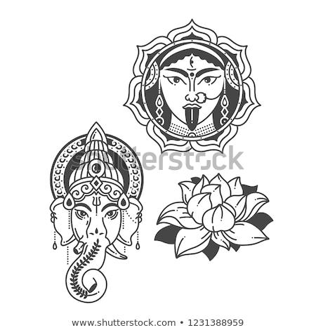 Icon of Goddess Durga  Stock photo © Olena