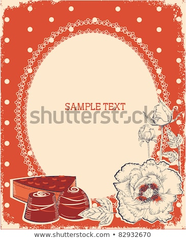 silhouette sweetest day stock photo © olena