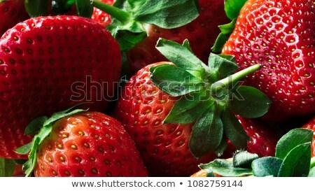 Juicy fresh strawberries. stock photo © lithian