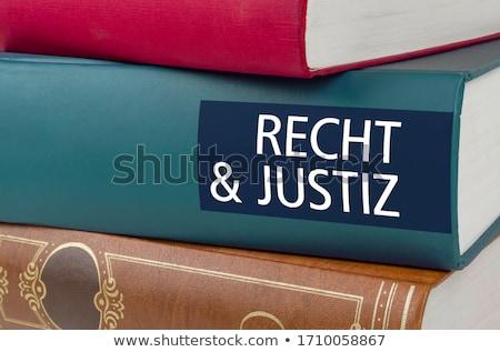 Informatie boek titel wervelkolom boeken Stockfoto © tashatuvango