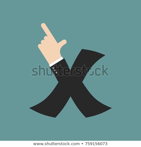 指 · 印刷 · マクロ · 表示 · 人間 · 親指 - ストックフォト © popaukropa