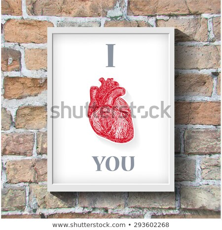 new you drawn on brick wall stock photo © tashatuvango
