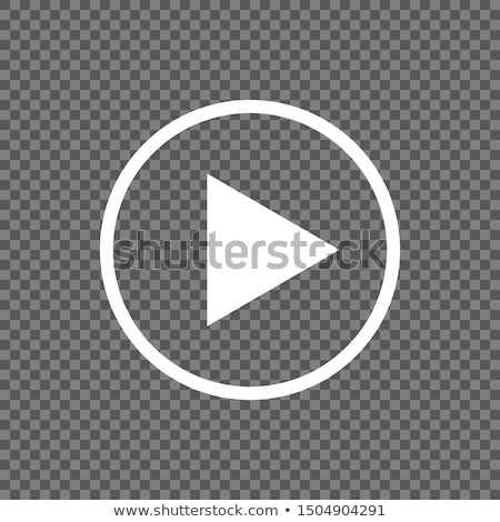Stock photo: start and stop buttons transparent