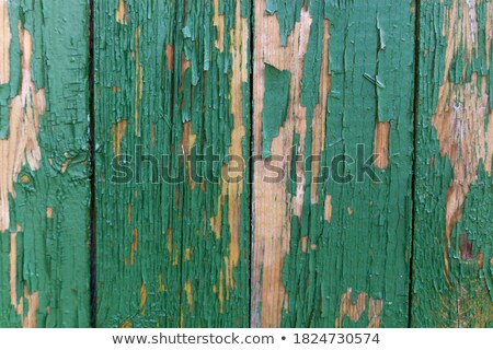 green repair wall with scratch Stock photo © romvo