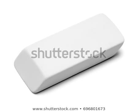 резиновые Eraser белый карандашом чернила пер Сток-фото © ajt