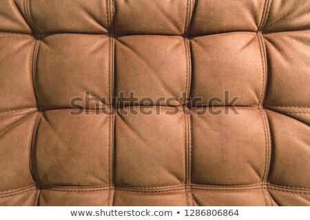 коричневый искусственный ткань бесшовный текстуры фон Сток-фото © tashatuvango
