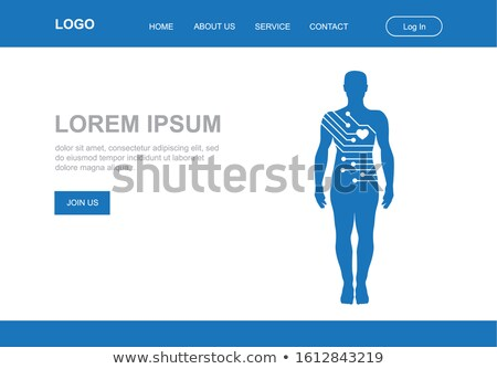 A Human Body Transformation Template Stock photo © bluering
