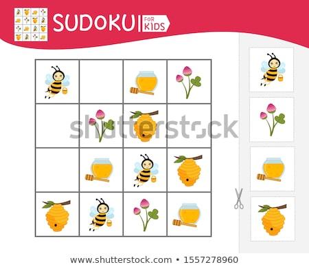 Crianças jogo insetos crianças fotos atividade Foto stock © Olena