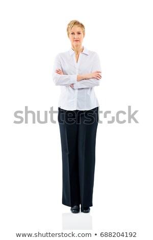 счастливым · успешный · деловой · женщины · деньги - Сток-фото © deandrobot