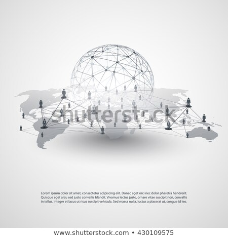 Business hierarchy concept vector illustration. Stock photo © RAStudio
