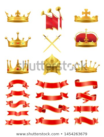 набор королевский красочный карт золото Сток-фото © robuart