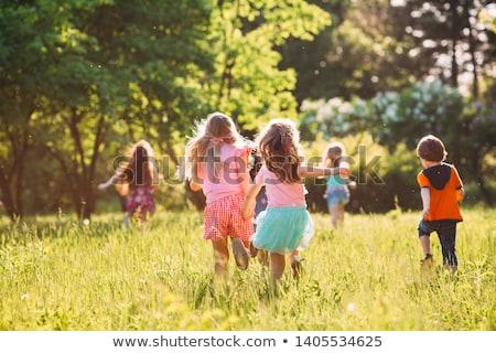 子供 · ダンス · 幸せ · 子供 · 少女 · パーティ - ストックフォト © colematt
