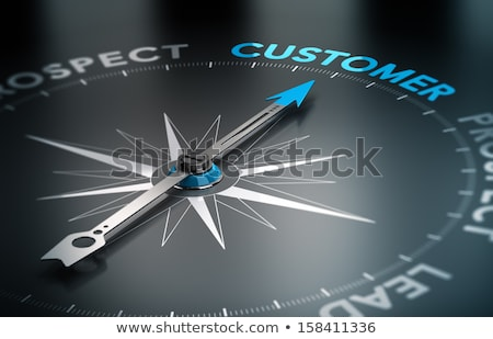 leads customers conversion arrows concept stock photo © ivelin