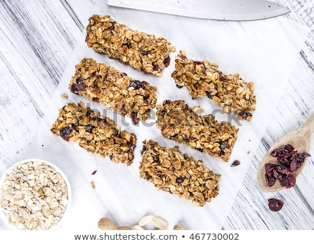 homemade granola bar stock photo © m-studio