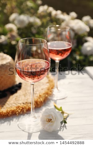 Vino Rosado. Stock photo © Fisher